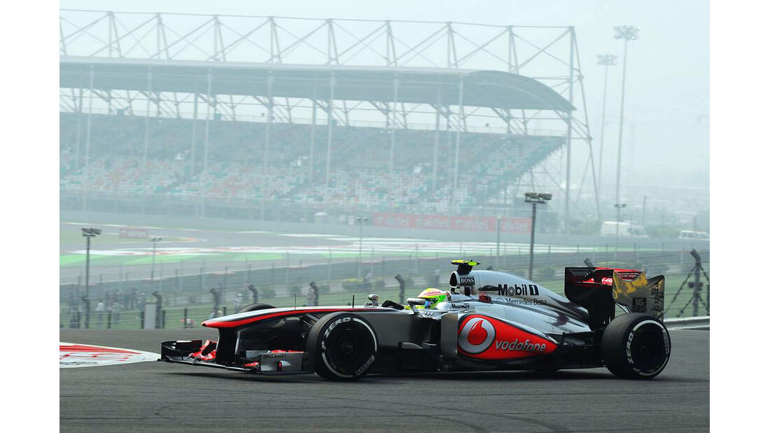 Sergio Perez - McLaren - Formel 1 - GP Indien - 26. Oktober 2013