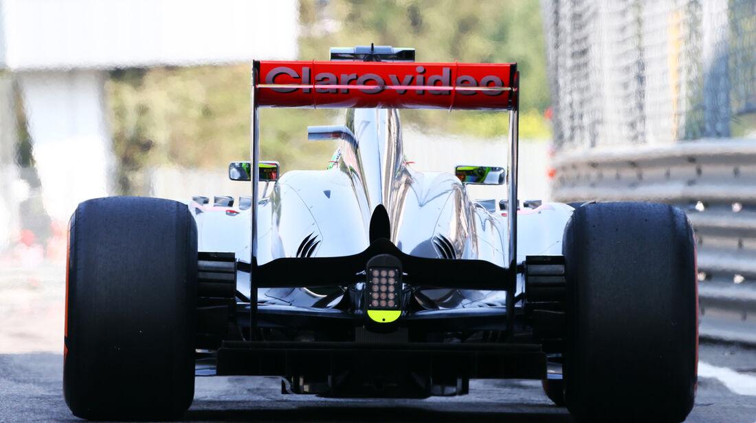 Sergio Perez - McLaren - Formel 1 - GP Italien - 7. September 2013