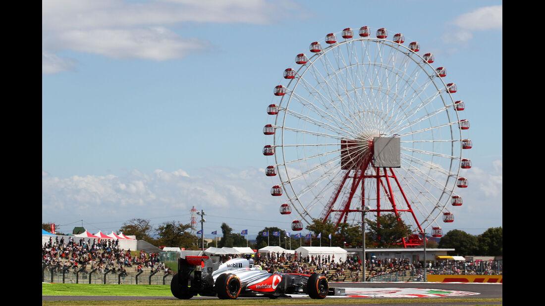 Sergio Perez - McLaren - Formel 1 - GP Japan 2013