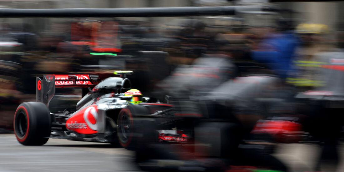 Sergio Perez - McLaren - Formel 1 - GP Kanada - 8. Juni 2013