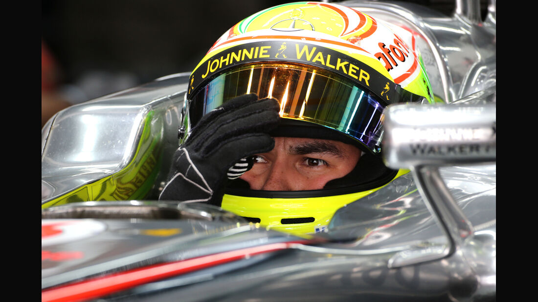Sergio Perez - McLaren - Formel 1 - GP Korea - 5. Oktober 2013