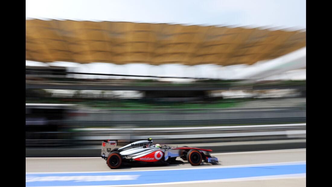 Sergio Perez - McLaren - Formel 1 - GP Malaysia - 22. März 2013