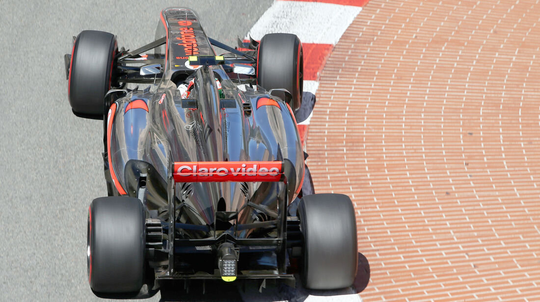 Sergio Perez - McLaren - Formel 1 - GP Monaco - 23. Mai 2013