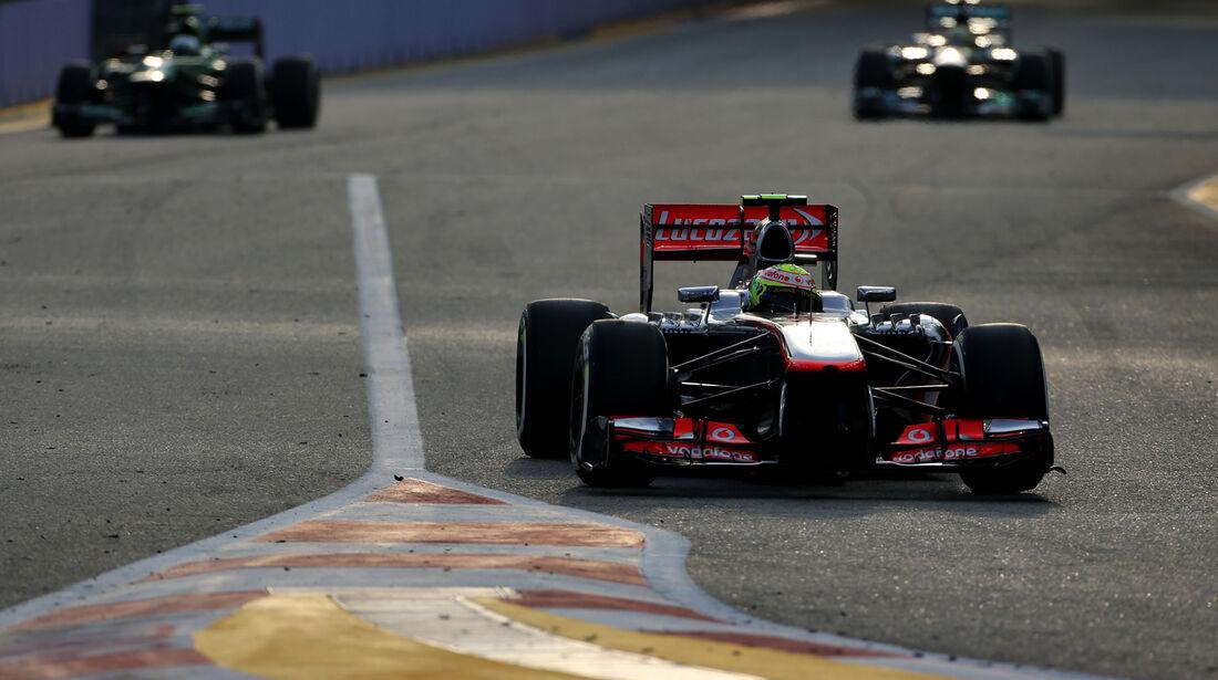 Sergio Perez - McLaren - Formel 1 - GP Singapur - 21. September 2013