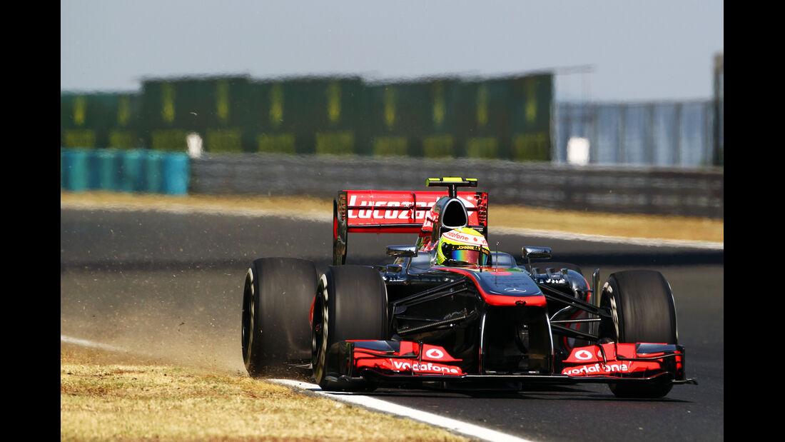 Sergio Perez - McLaren - Formel 1 - GP Ungarn 2013
