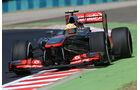 Sergio Perez - McLaren - Formel 1 - GP Ungarn - 26. Juli 2013