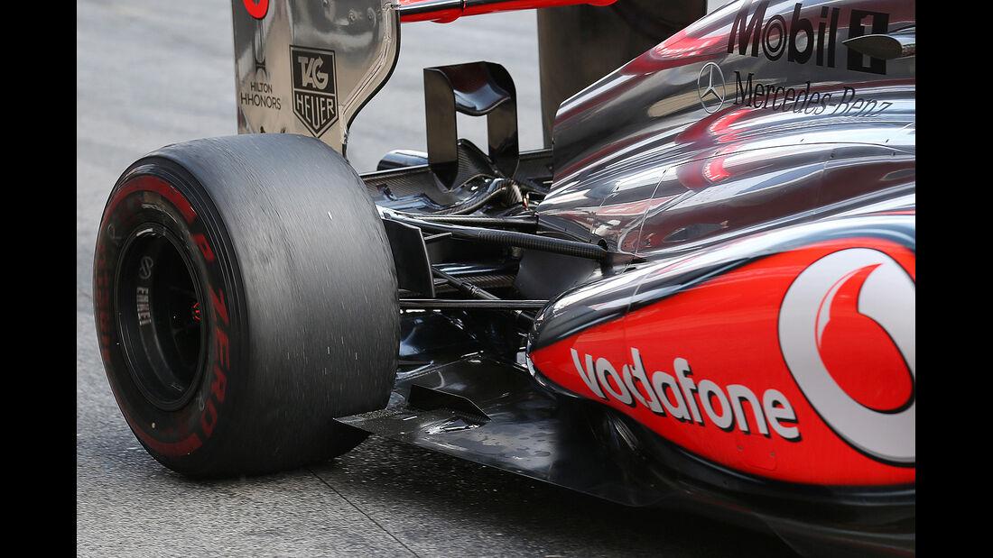 Sergio Perez, McLaren, Formel 1-Test, Barcelona, 19.2.2013