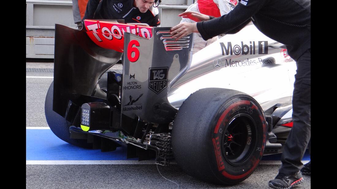 Sergio Perez - McLaren - Formel 1 - Test - Barcelona - 19. Februar 2013