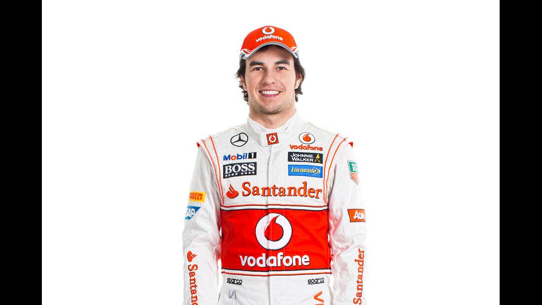 Sergio Perez Porträt 2013