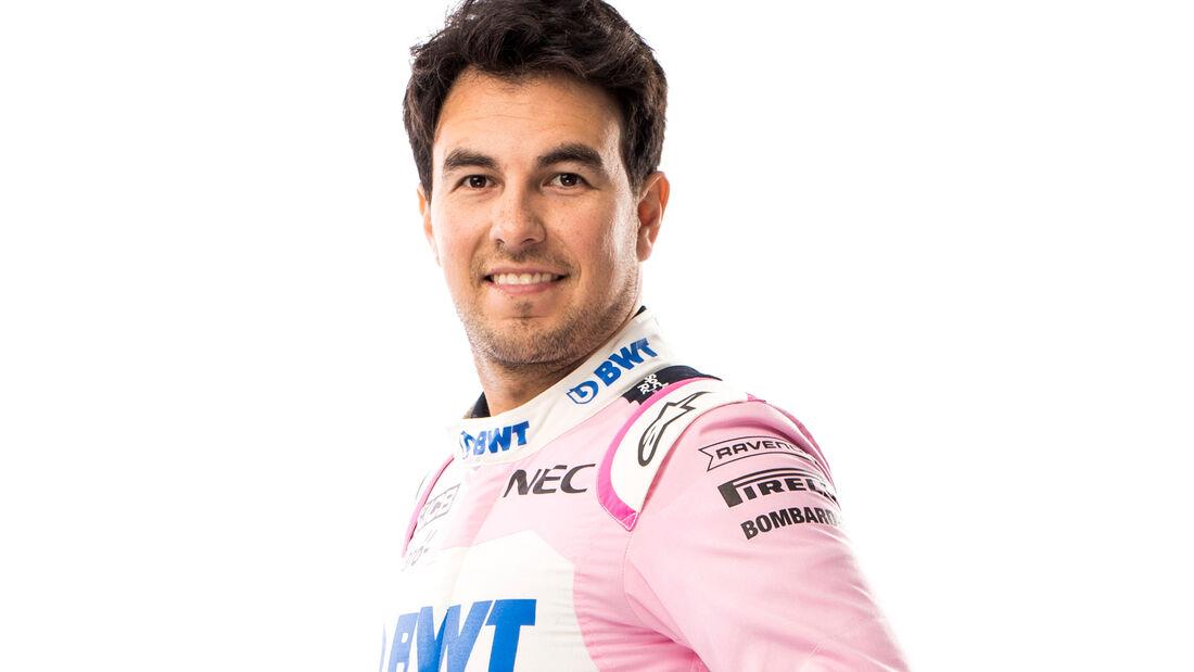 Sergio Perez - Porträt - 2019