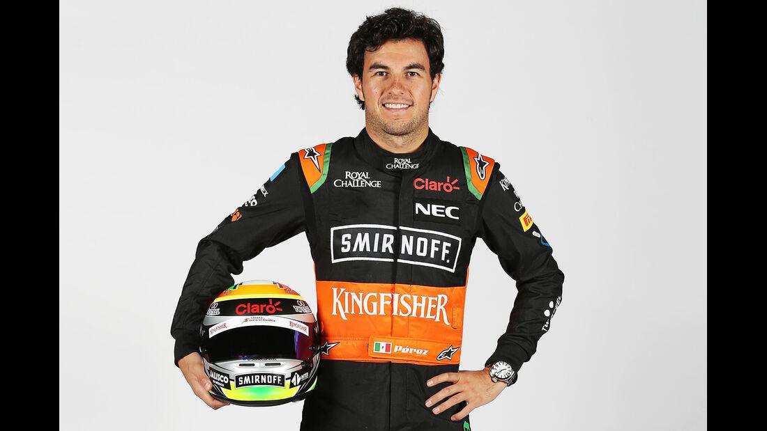 Sergio Perez - Porträt - Formel 1 - 2015