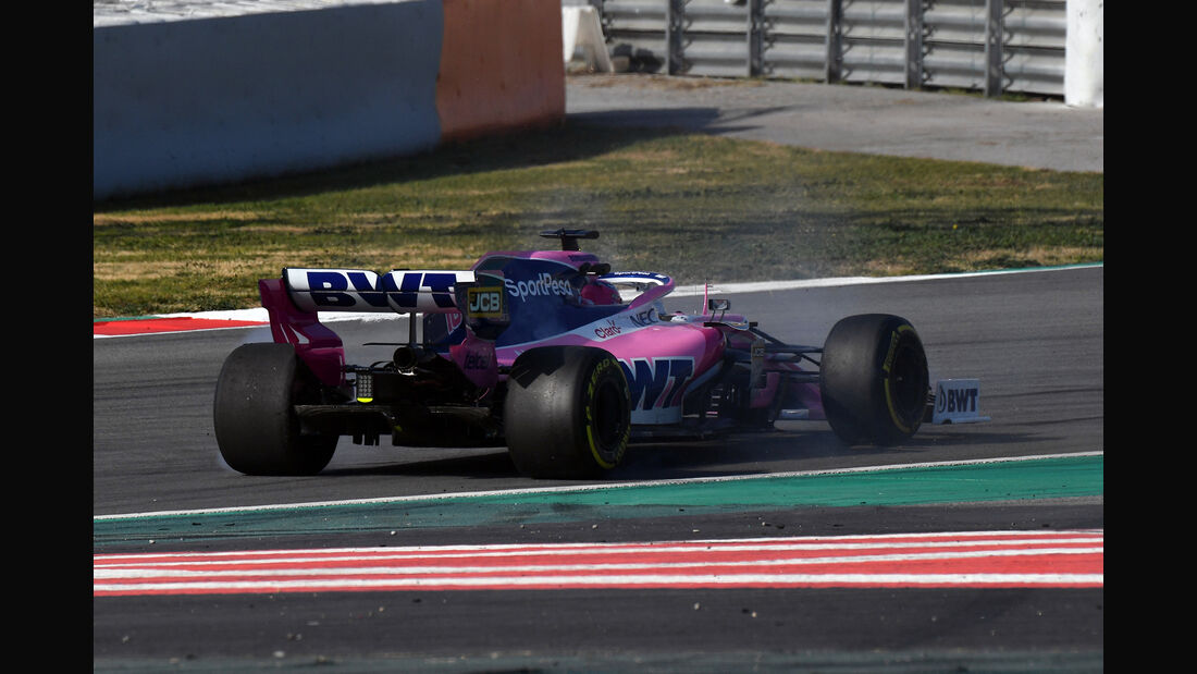 Sergio Perez - Racing Point - Barcelona - F1-Test - 21. Februar 2019