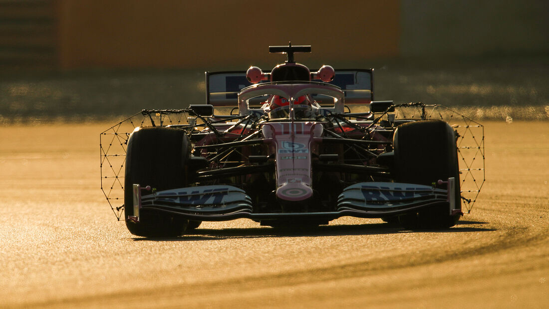 Sergio Perez - Racing Point - F1-Test - Barcelona - 19. Februar 2020