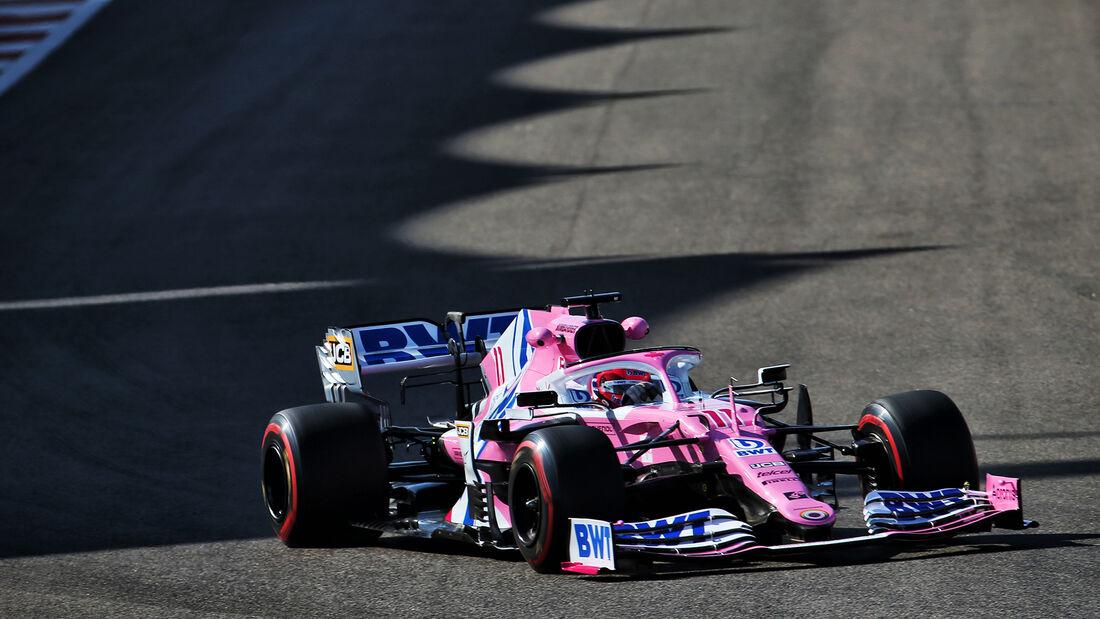 Sergio Perez - Racing Point - Formel 1 - GP Abu Dhabi - Freitag - 11.12.2020