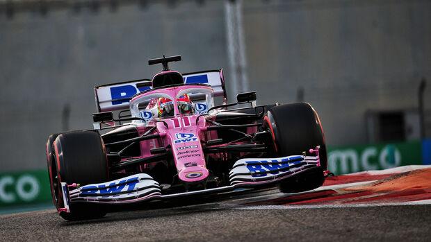 Sergio Perez - Racing Point - Formel 1 - GP Abu Dhabi - Samstag - 12.12.2020