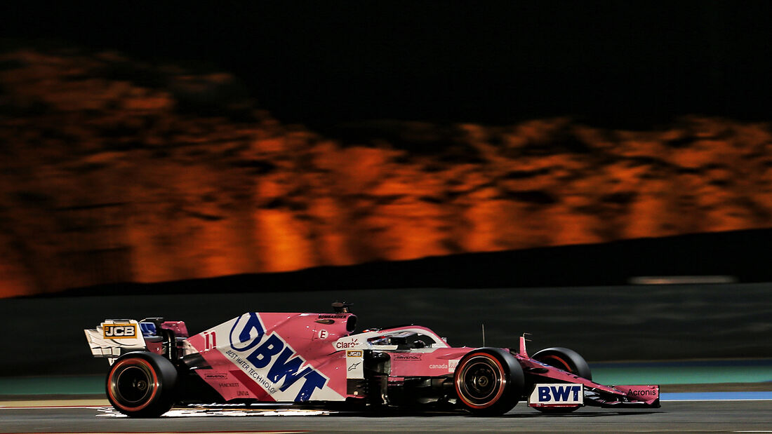 Sergio Perez - Racing Point - Formel 1 - GP Bahrain - Sakhir - Qualifikation - Samstag - 28.11.2020