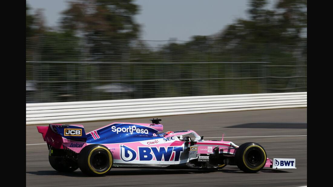 Sergio Perez - Racing Point - Formel 1 - GP Deutschland - Hockenheim 2019
