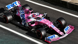 Sergio Perez - Racing Point - Formel 1 - GP Eifel - Nürburgring - Samstag - 10.10.2020