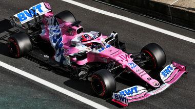 Sergio Perez - Racing Point - Formel 1 - GP Eifel - Nürburgring - Samstag - 10.10.2020