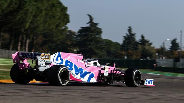 Sergio Perez - Racing Point - Formel 1 - GP Emilia-Romagna - Imola - Samstag - 31.10.2020