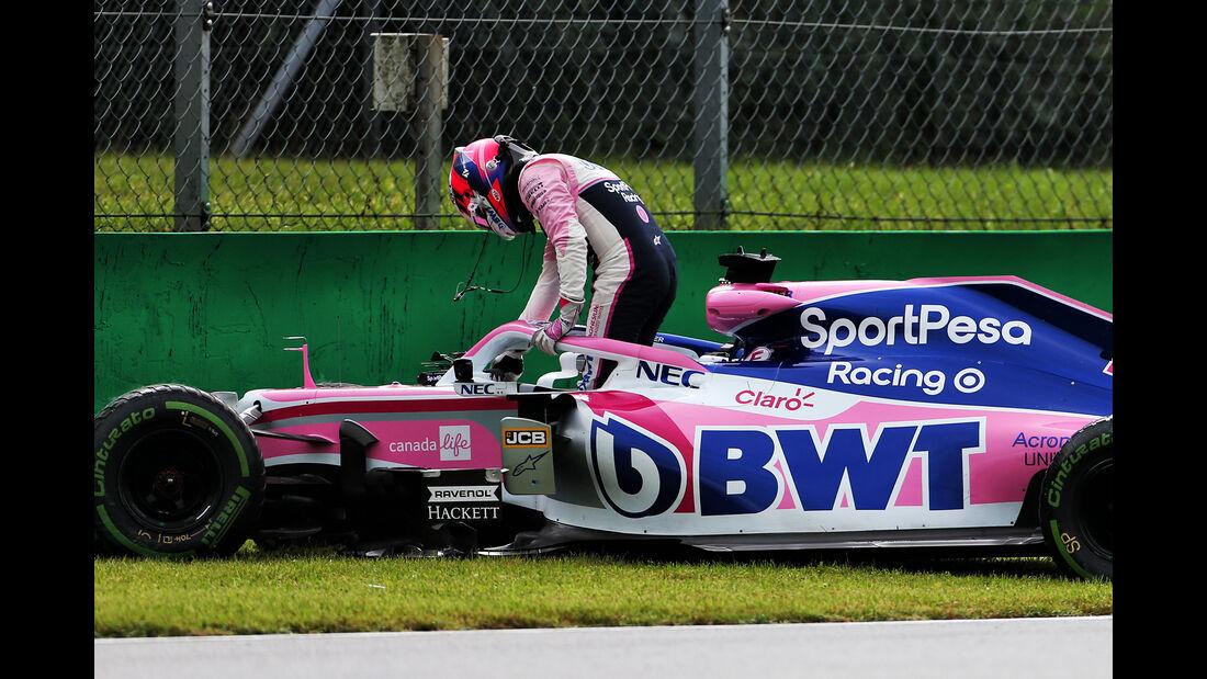 Sergio Perez - Racing Point - Formel 1 - GP Italien - Monza - 6. September 2019