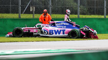 Sergio Perez - Racing Point - Formel 1 - GP Italien - Monza - 6. September 2019