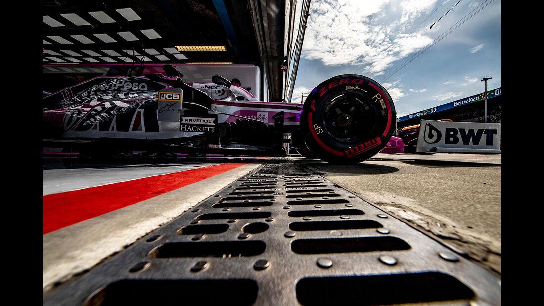 Sergio Perez - Racing Point  - Formel 1 - GP Italien - Monza - 7. September 2019