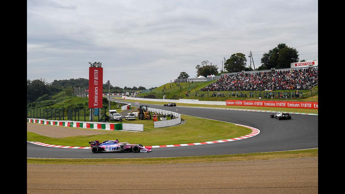 Sergio Perez - Racing Point - Formel 1 - GP Japan - Suzuka - 11. Oktober 2019