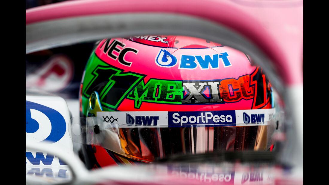 Sergio Perez - Racing Point - Formel 1 - GP Mexiko - 25. Oktober 2019