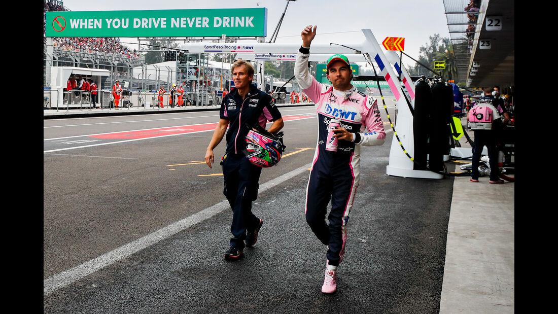 Sergio Perez - Racing Point - Formel 1 - GP Mexiko - 26. Oktober 2019