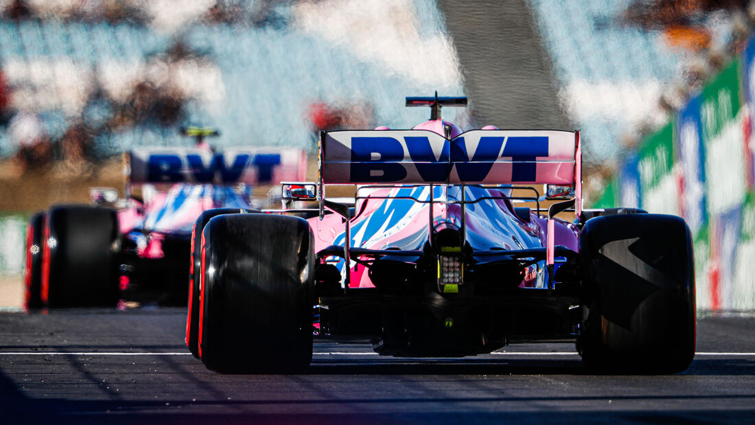 Sergio Perez - Racing Point - Formel 1 - GP Portugal - Portimao - 24. Oktober 2020