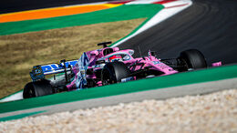Sergio Perez - Racing Point - Formel 1 - GP Portugal - Portimao - 24. Oktober 2020