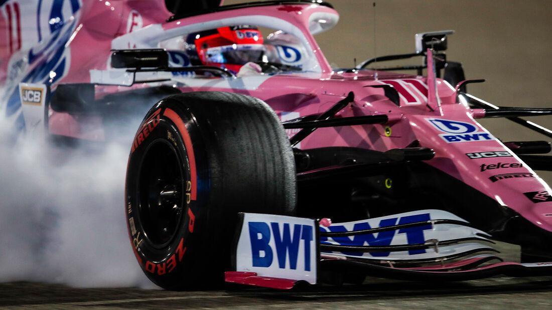 Sergio Perez - Racing Point - Formel 1 - GP Sakhir - Bahrain - Freitag - 4.12.2020