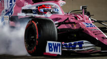 Sergio Perez - Racing Point - Formel 1 - GP Sakhir - Bahrain - Freitag - 4.12.2020