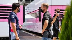Sergio Perez - Racing Point - Formel 1 - GP Spanien - Barcelona - Donnerstag - 13. August 2020