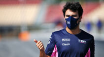 Sergio Perez - Racing Point - Formel 1 - GP Spanien - Barcelona - Donnerstag - 13. August 2020