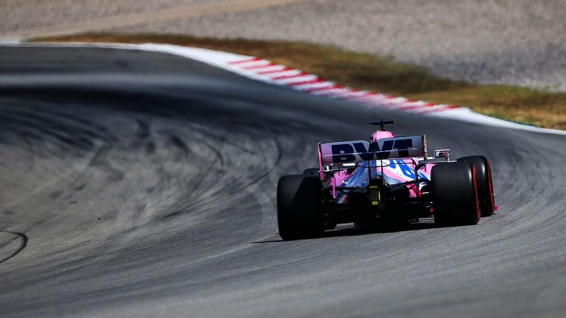 Sergio Perez - Racing Point - Formel 1 - GP Spanien - Barcelona - Qualifying - Samstag - 15. August 2020