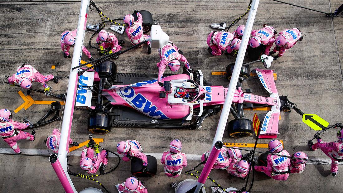 Sergio Perez - Racing Point - Formel 1 - GP Steiermark 2020 - Spielberg - Rennen