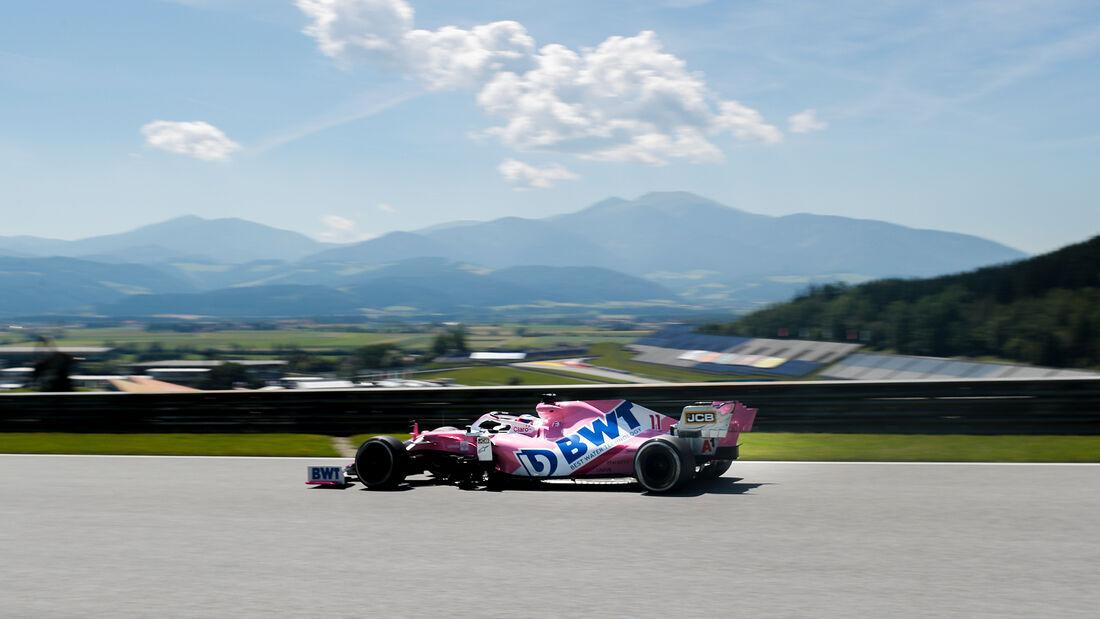 Sergio Perez - Racing Point - Formel 1 - GP Steiermark - Österreich - Spielberg - 10. Juli 2020
