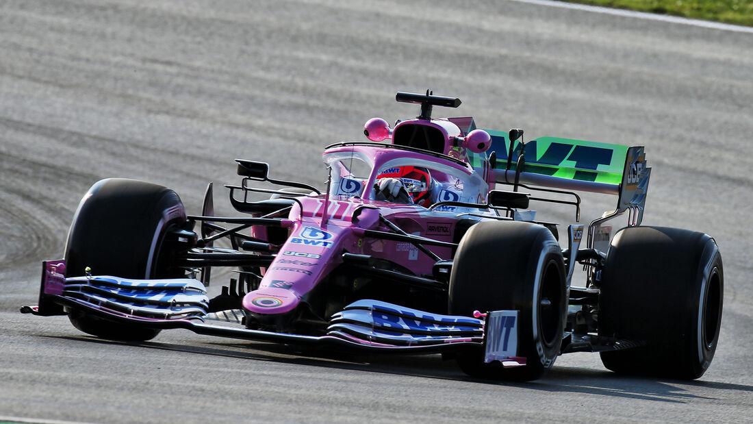 Sergio Perez - Racing Point - Formel 1 - GP Türkei - Istanbul - Freitag - 13.11.2020