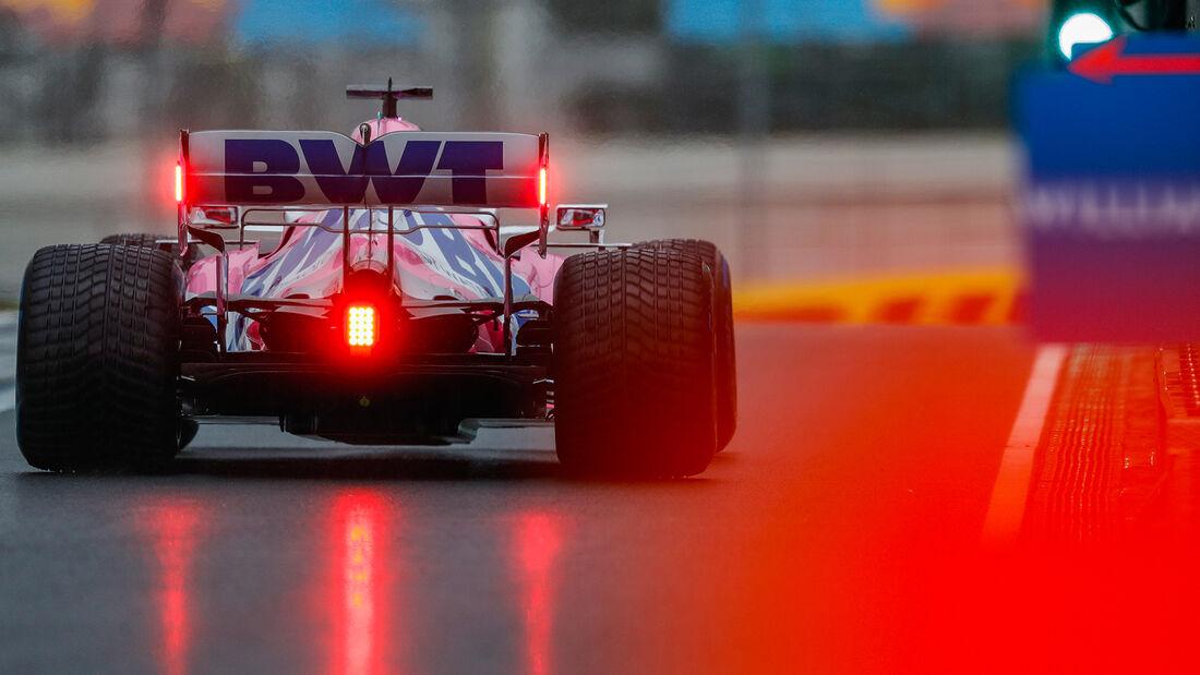 Sergio Perez - Racing Point - Formel 1 - GP Türkei - Istanbul - Samstag - 14.11.2020