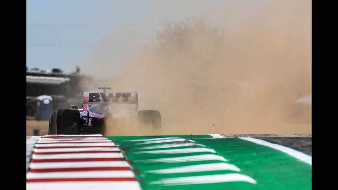 Sergio Perez - Racing Point  - Formel 1 - GP USA - Austin - 2. November 2019