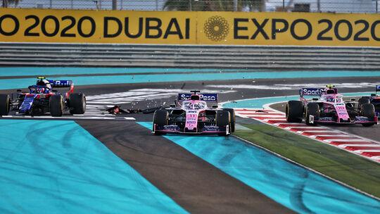 Sergio Perez - Racing Point - GP Abu Dhabi 2019 - Rennen