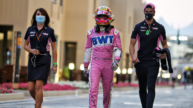 Sergio Perez - Racing Point - GP Abu Dhabi 2020 - Rennen