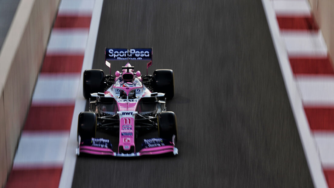 Sergio Perez - Racing Point - GP Abu Dhabi - Formel 1 - Freitag - 29.11.2019