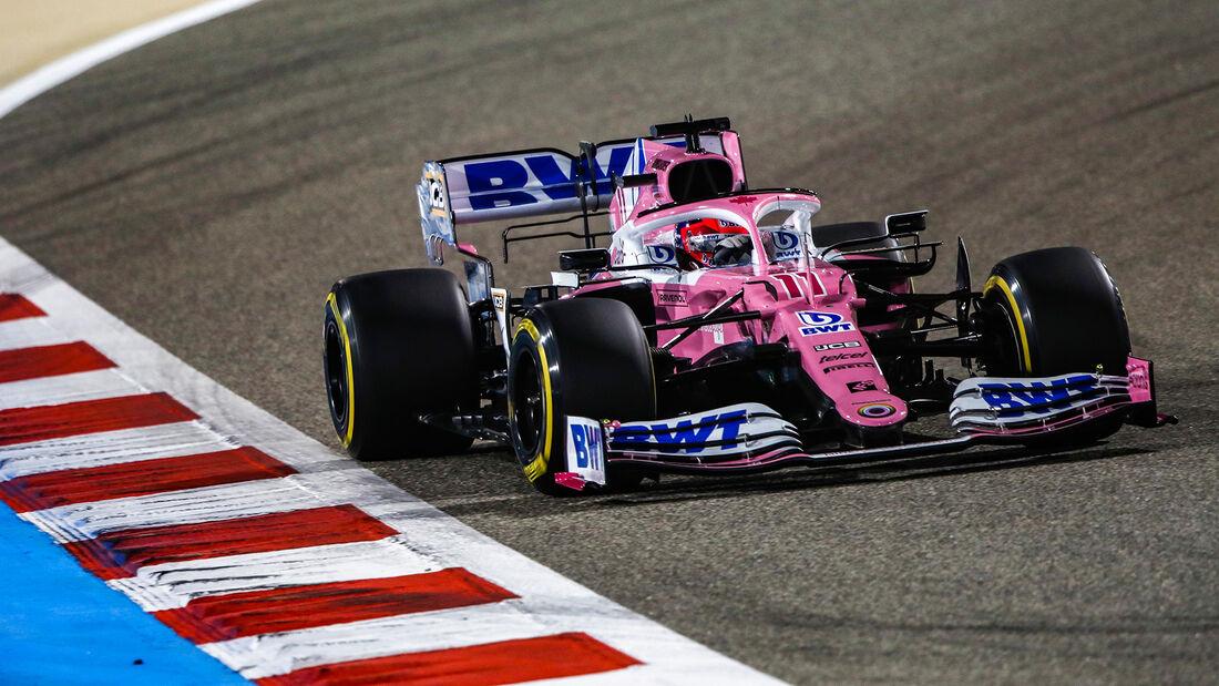 Sergio Perez - Racing Point - GP Bahrain 2020 - Sakhir