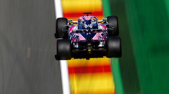 Sergio Perez - Racing Point - GP Belgien 2019 - Spa-Francorchamps