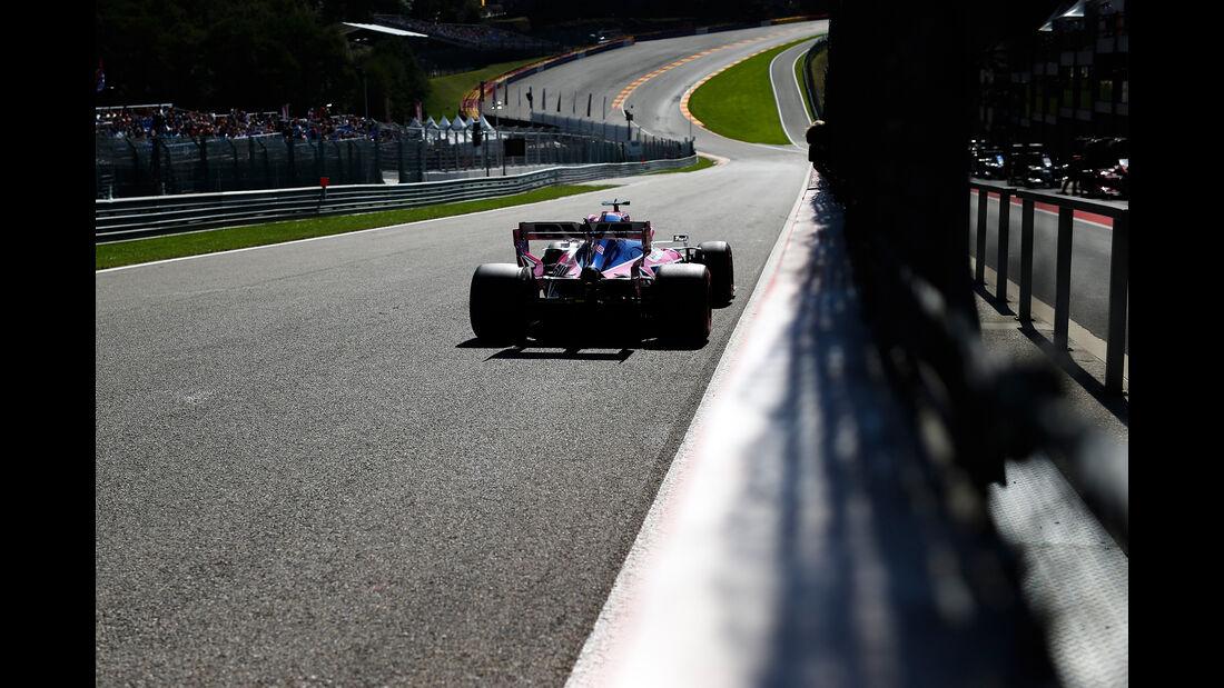 Sergio Perez - Racing Point - GP Belgien - Spa-Francorchamps - Formel 1 - Freitag - 30.8.2019