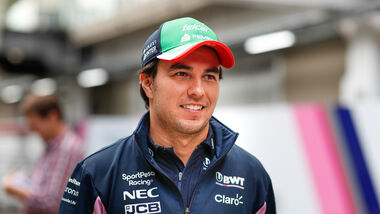 Sergio Perez - Racing Point - GP Brasilien 2019