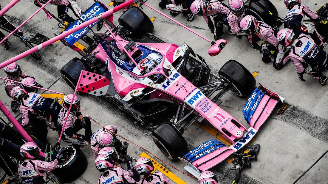 Sergio Perez - Racing Point - GP China 2019